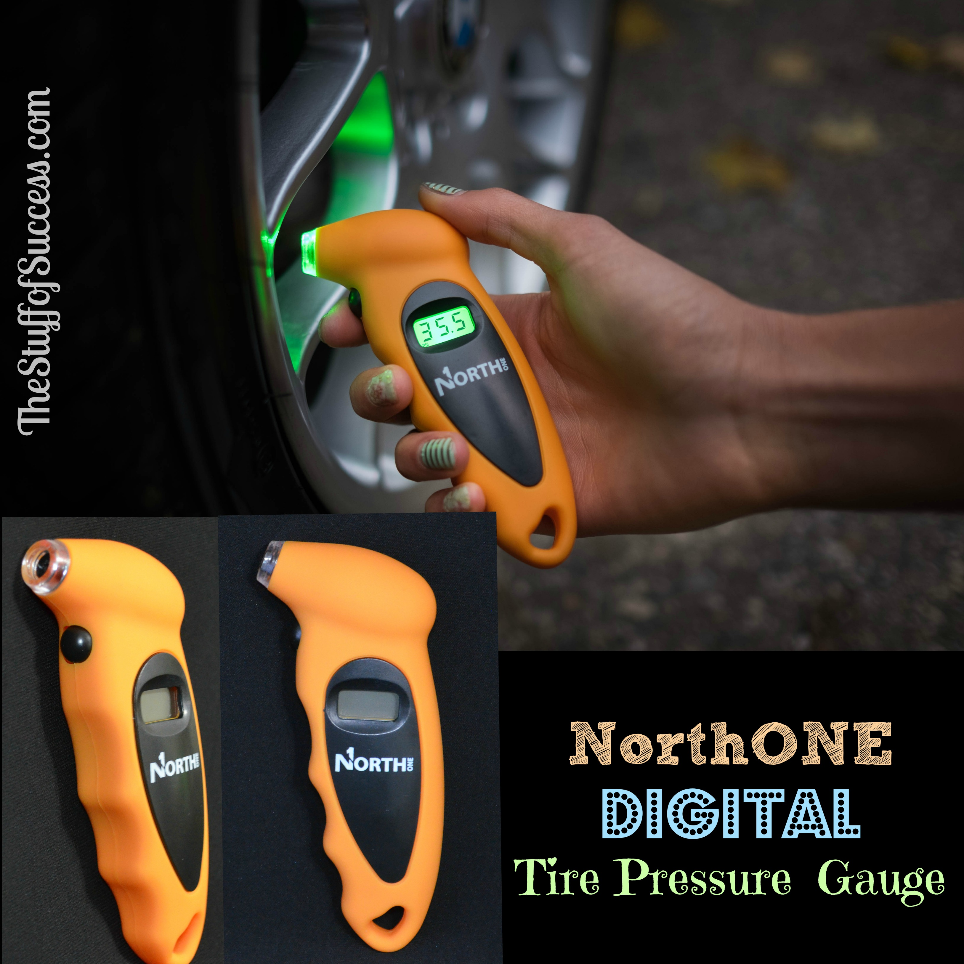 NorthONE Digital Tire Pressure Gauge