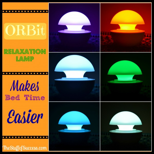 ORBit Relaxation Lamp Makes Bed Time Easier