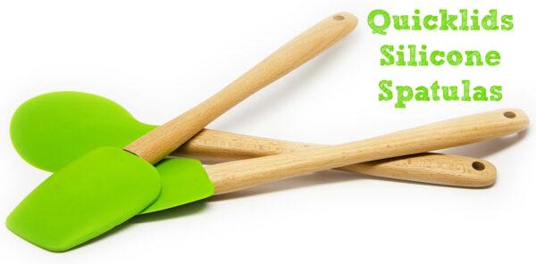 Quicklids Silicone Spatulas