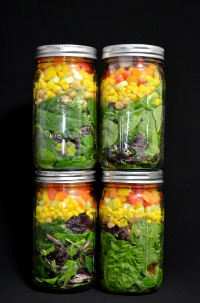 Salad In A Jar So Much Beauty
