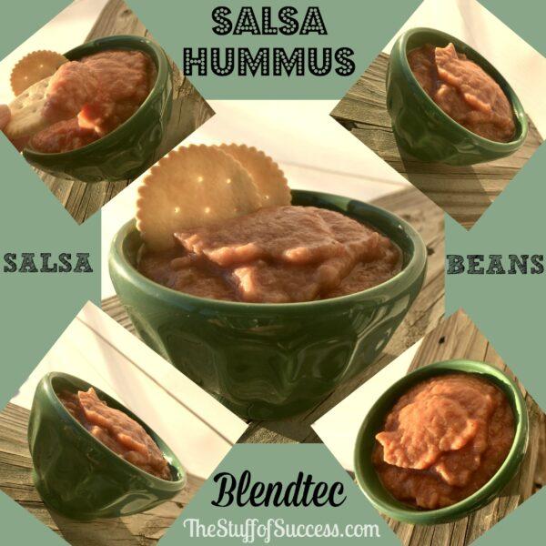 Salsa Hummus Blendtec