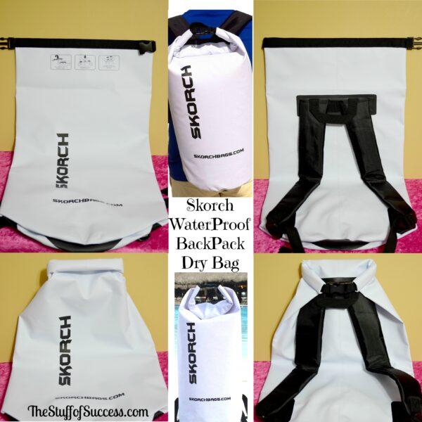 Skorch Waterproof Backpack Dry Bag