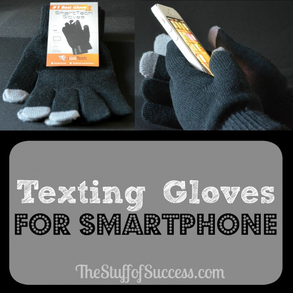 Texting Gloves for Smartphone