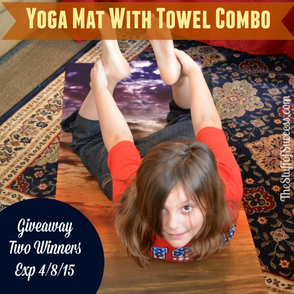 Yoga Mat With Towel Combo Giveaway Exp 040815