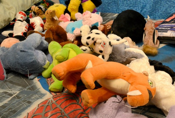 all the stuffed animals will fit
