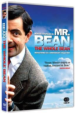 Mr Bean The Whole Bean DVD