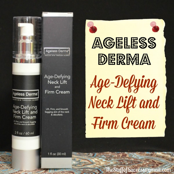 Ageless Derma Age Defying Neck LIft and Firm Cream