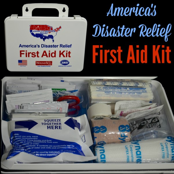 Americas Disaster Relief First Aid Kit Giveaway Exp 3/9