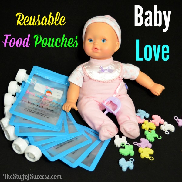 Baby Love Reusable Food Pouches Giveaway Exp 3/6