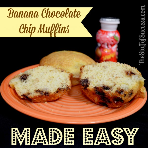 Easy Chocolate Chip Muffins From Cake Mix