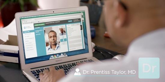 Doctor Visit Laptop