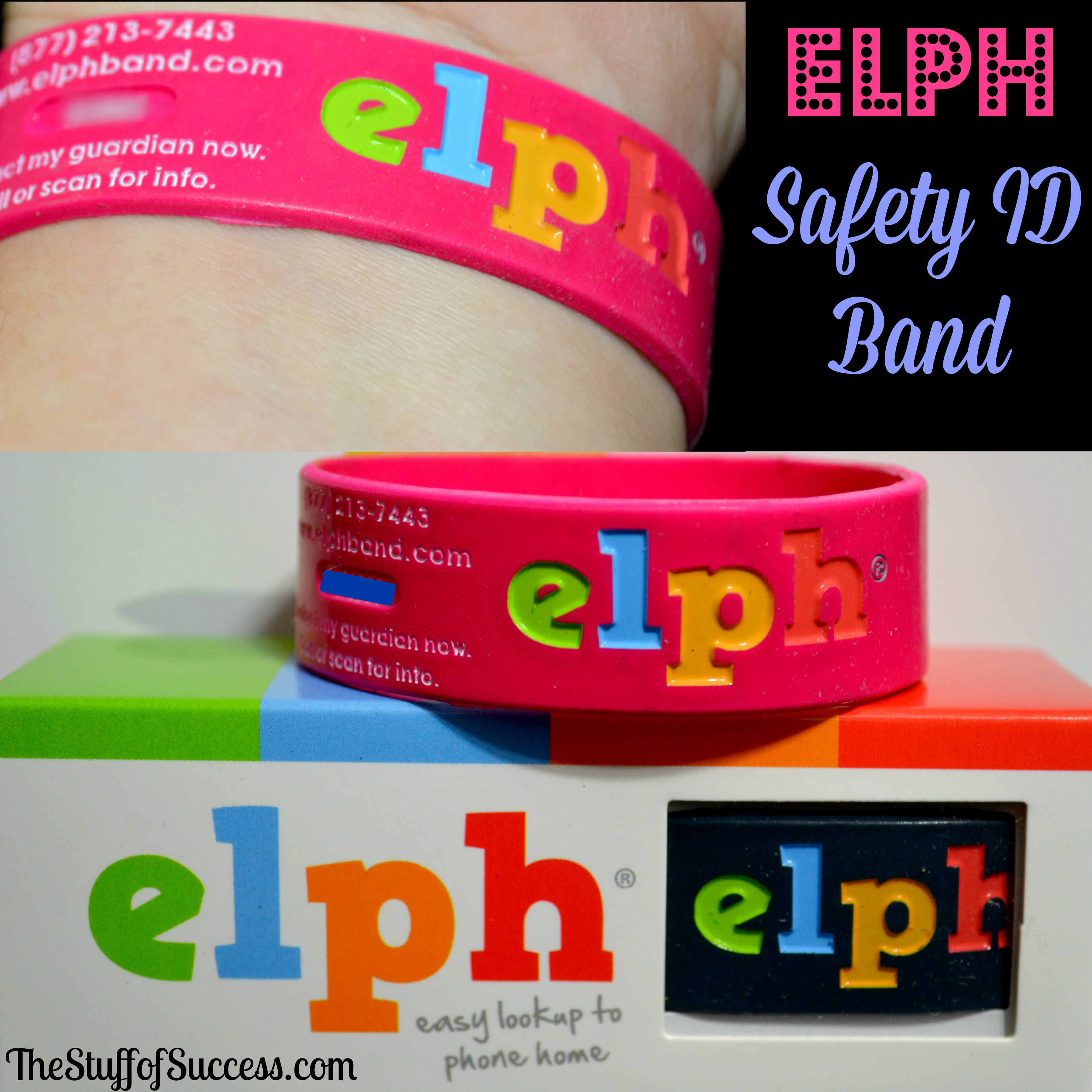 Elph Safety ID Band