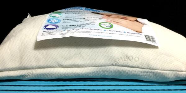 Fluffed Up Bamboo Pillow