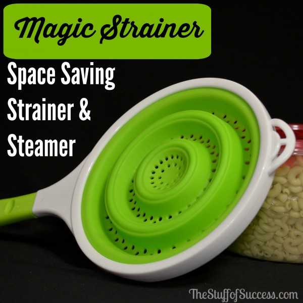 Magic Strainer Space Saving Strainer and Steamer Giveaway Exp 3/8