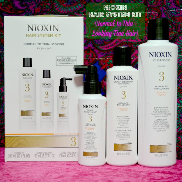 Nioxin Hair System Kit for Normal to Think Looking Fine Hair