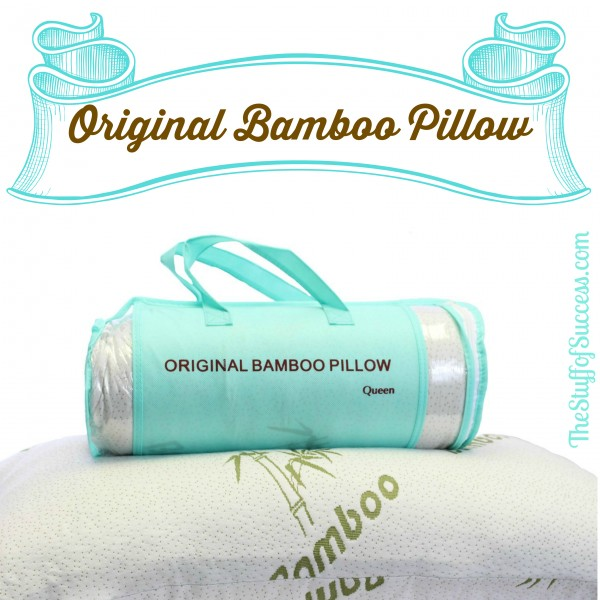 Original Bamboo Pillow Giveaway Exp 3/6