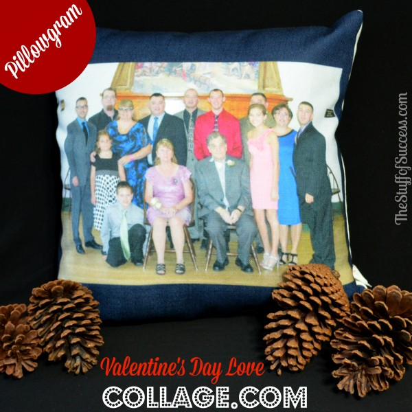 Share Your Love on Valentine's Day With a PillowGram from Collage.com | http://thestuffofsuccess.com