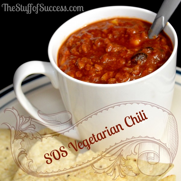 SOS Vegetarian Chili