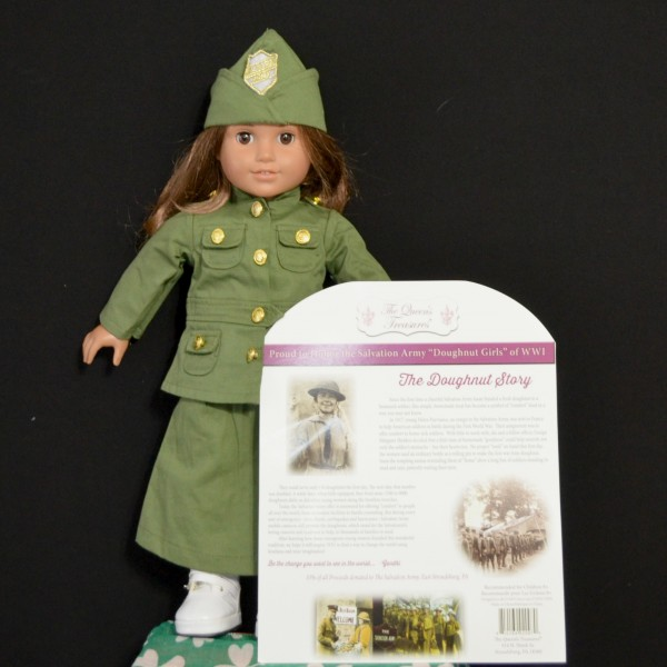 Salvation Army WWI Uniform for 18 Doll