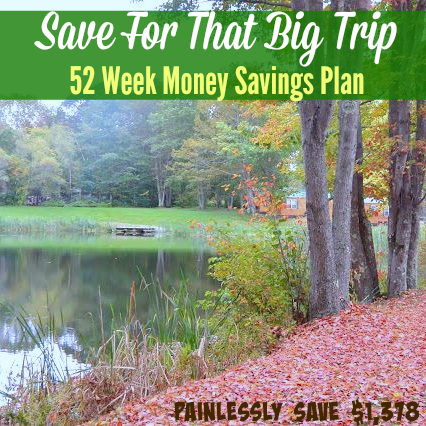 52 Week Money Savings Plan - You Too Can Easily Save $1,378 This Year