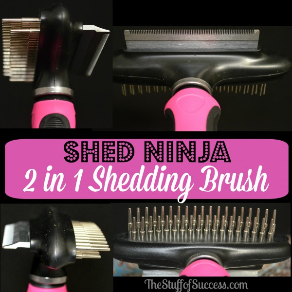 Shed Ninja 2 in 1 Shedding Tool
