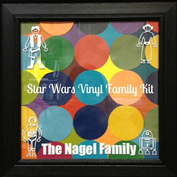 Star Wars Vinyl Family Kit