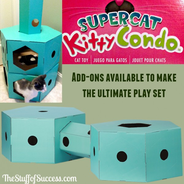 Supercat Kitty Condo - Add-ons Available