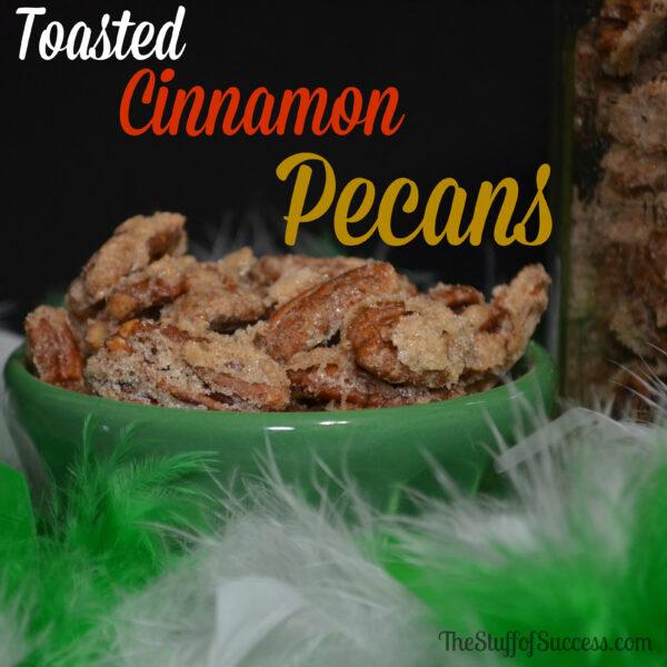Toasted Cinnamon Pecans