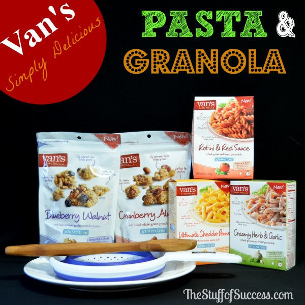 Vans Pasta and Granola