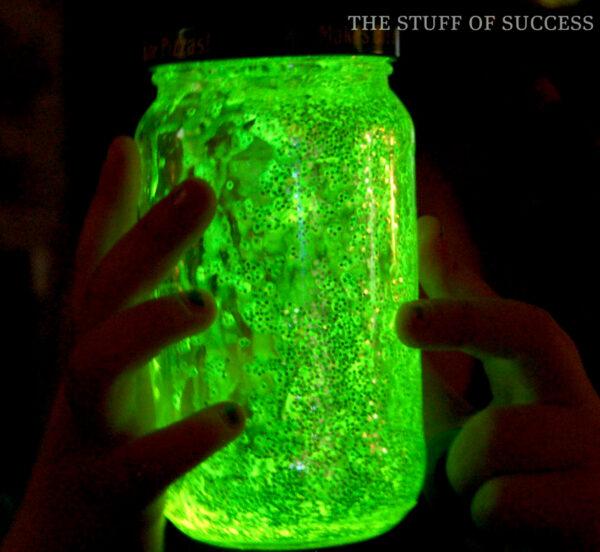 single glow jar