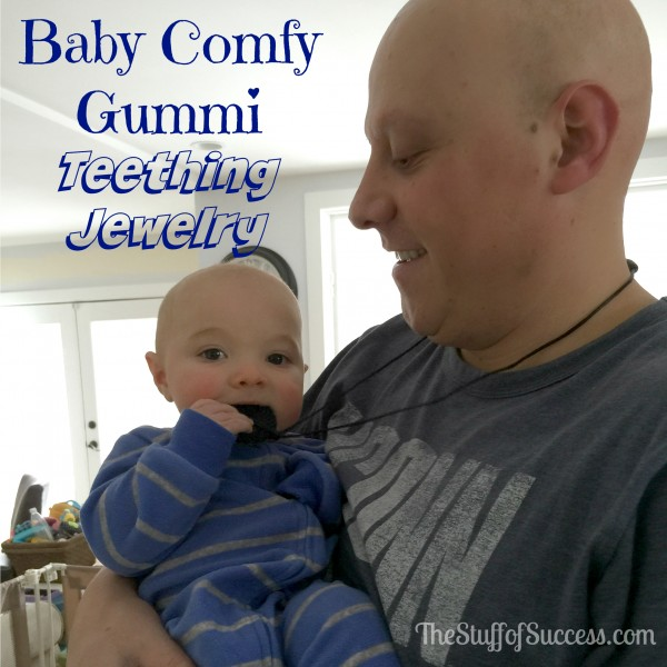 Baby Comfy Gummi Teething Jewelry In Action Giveaway Exp 3/26