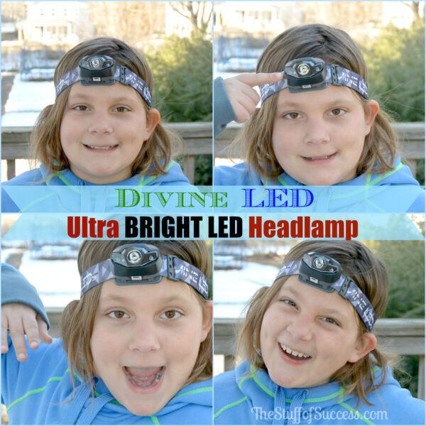 Divine LED Ultra BRIGHT LED Headlamp Giveaway Exp 4/8