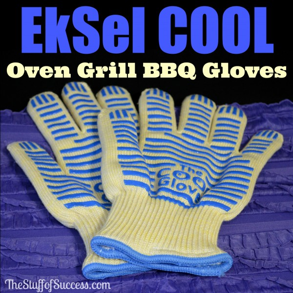 EkSel COOL Oven Grill BBQ Gloves Giveaway Exp 4/19