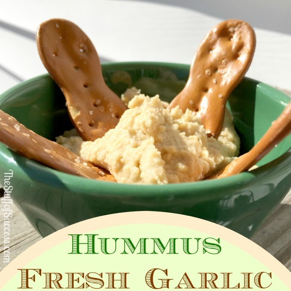 Fresh Garlic Hummus