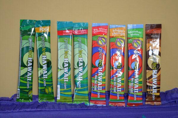 Green Tea Hawaii Flavors