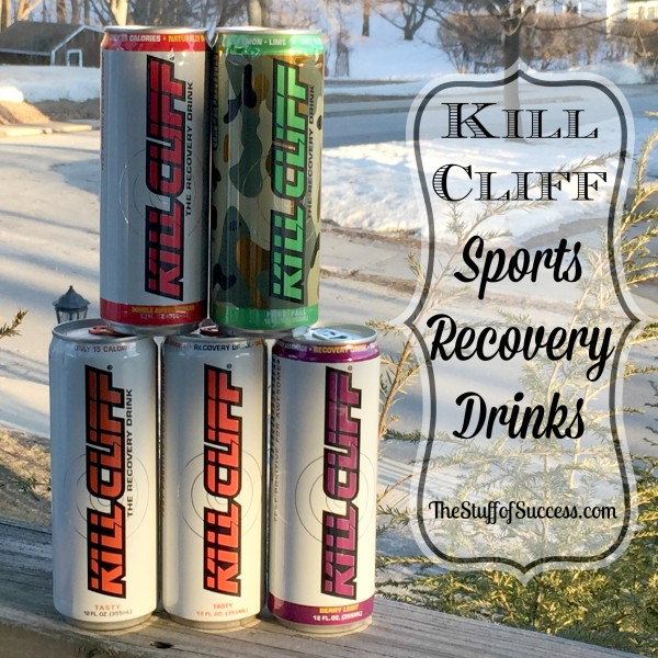 Kill Cliff Sports Recovery Drinks