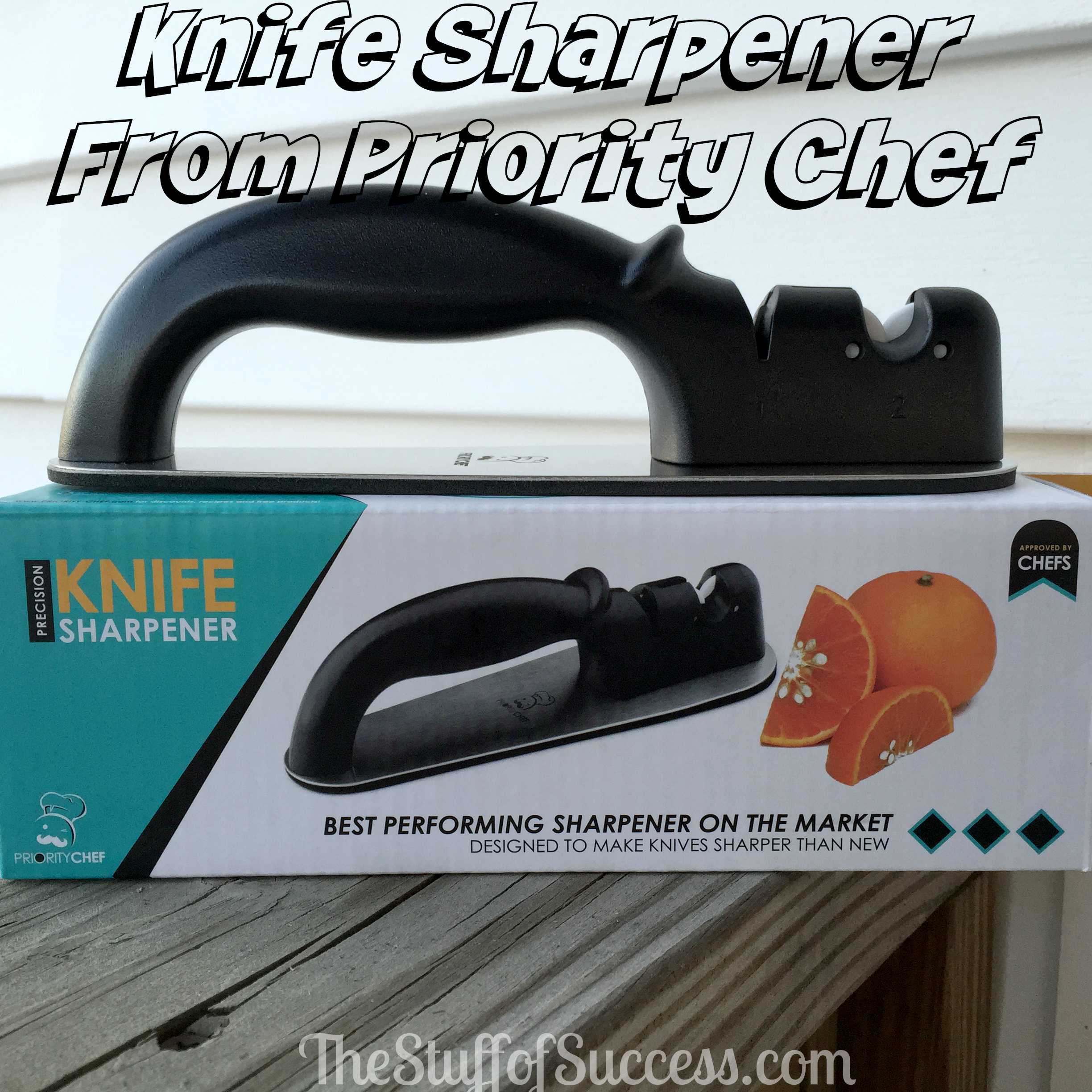 Knife Sharpener From Priority Chef