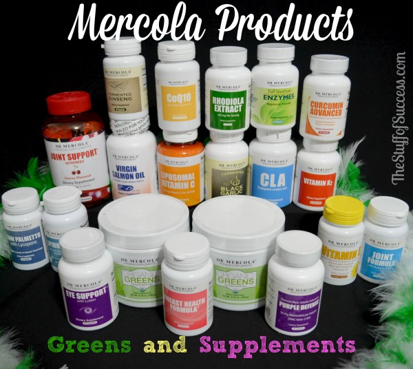 Mercola Products Organic Greens and Supplements and Organic Greens Giveaway Exp 3/15 | The Stuff of Success