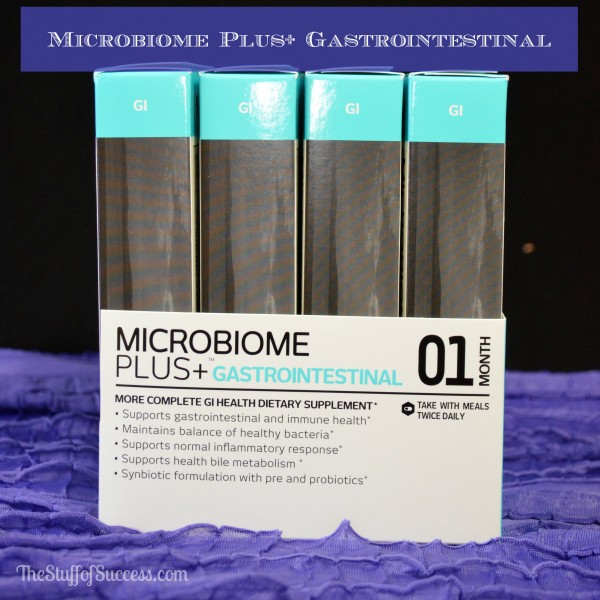 Microbiome Plus Gastrointestinal Giveaway Exp 4/4