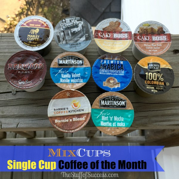 Mixcups Single Cup Coffee of the Month Club