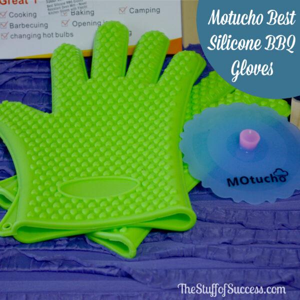 Motucho Best Silicone BBQ Gloves Giveaway 3/31