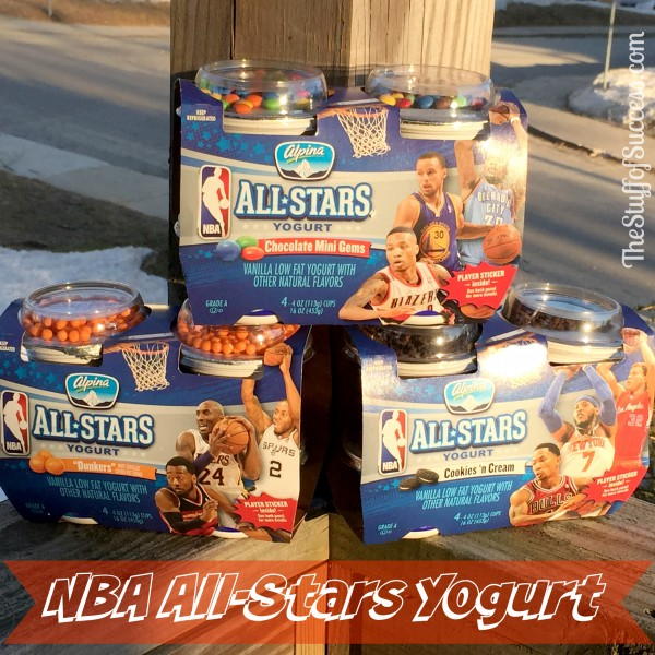 NBA All Stars Yogurt