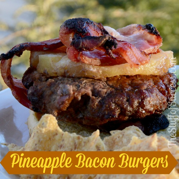 Pineapple Bacon Burger - Hawaiian Style