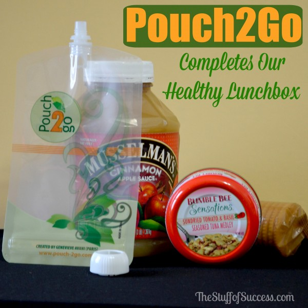 Pouch 2 Go Completes Our Healthy Lunchbox