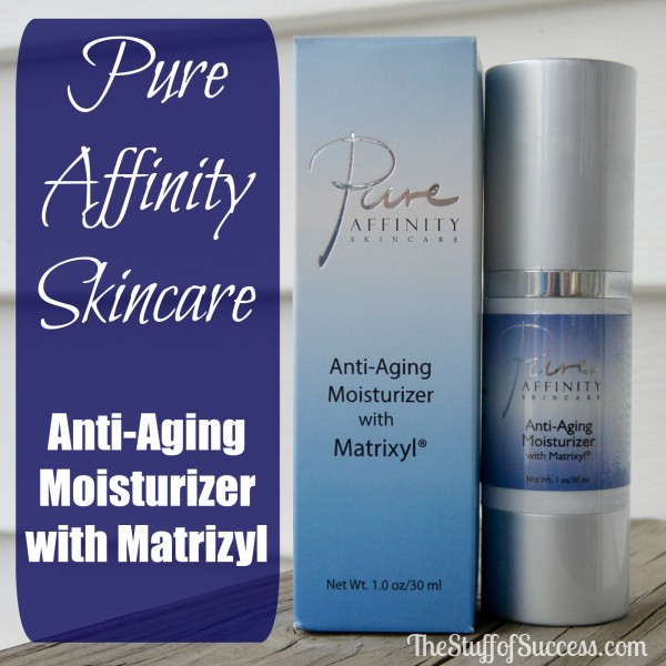 Pure Affinity Skincare Anti-Aging Moisturizer with Matrizyl Giveaway Exp 4/19