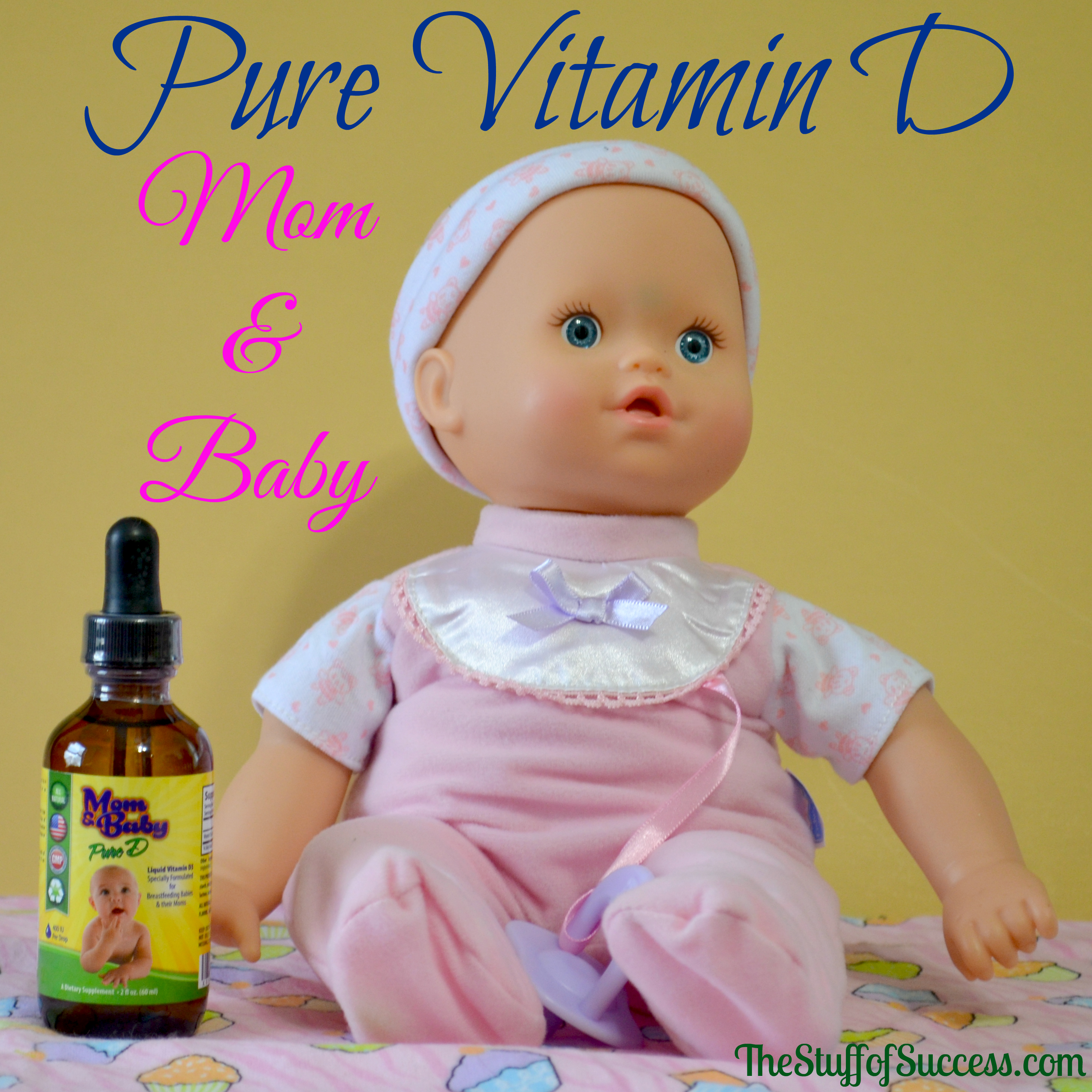 Pure Vitamin D Mom and Baby