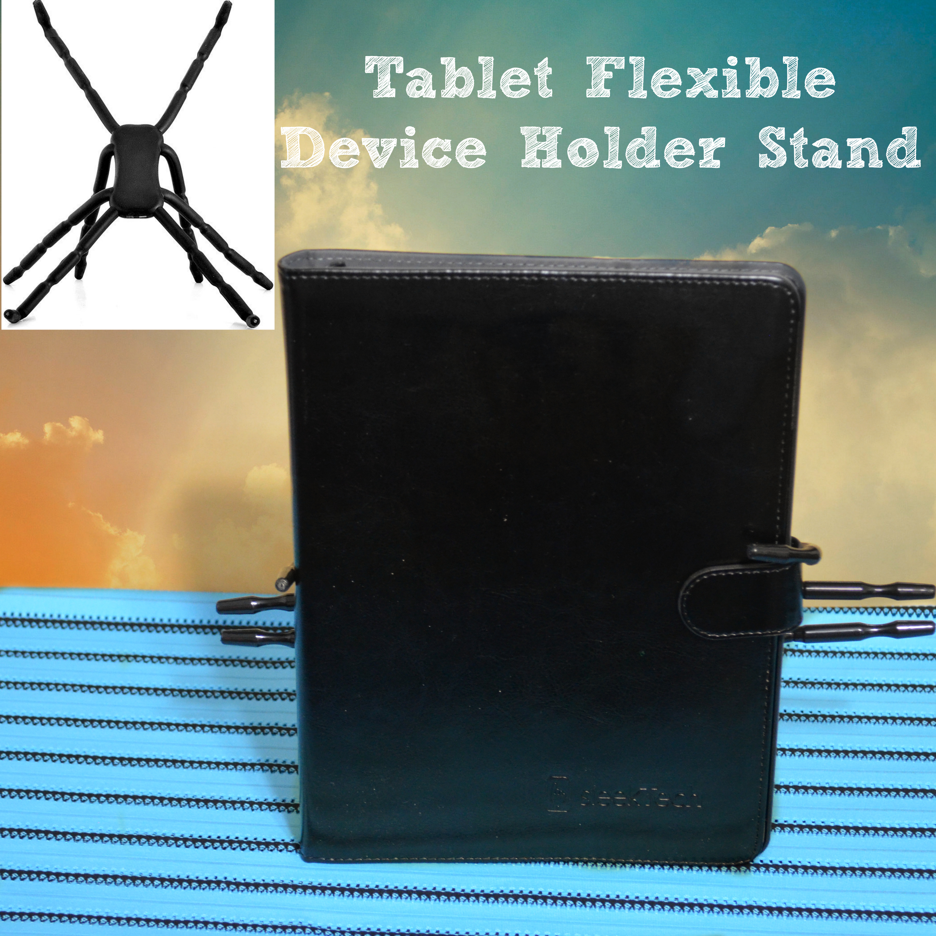 Tablet Flexible Device Holder Spider Stand
