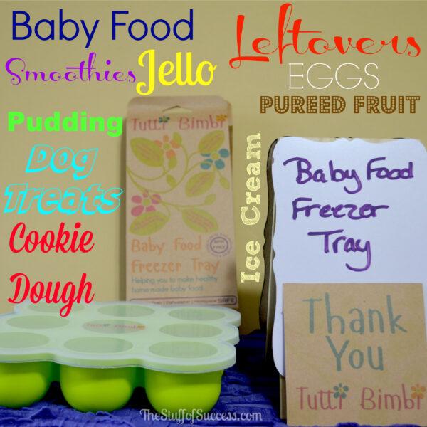 Tutti Bimbi Baby Food Freezer Tray