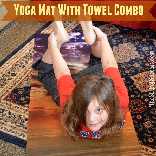 Yoga Mat With Towel Combo