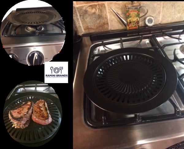 indoor smokeless grill